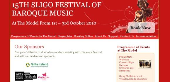 Launch of Sligo Festival of Baroque Music website