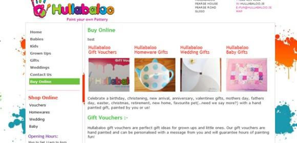 Hullabaloo now selling online