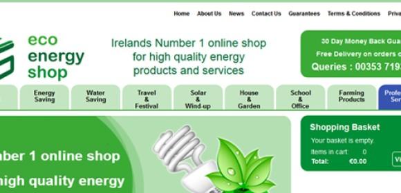 Launch of Eco Energy Shop.com