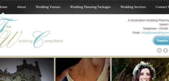 The Wedding Consultant Responsive Website