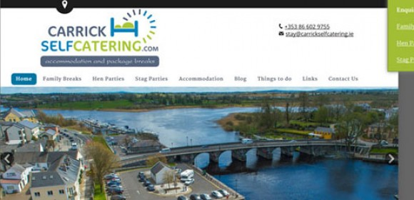A Fresh Redesign for Carrick Self Catering