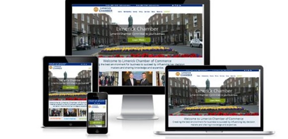 Responsive website for Limerick Chamber