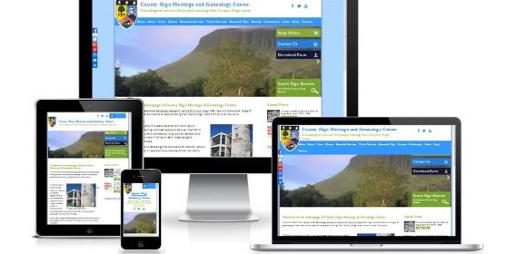 Responsive redesign for Sligo Roots