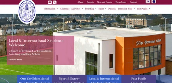 Sligo Grammar School Responsive Website