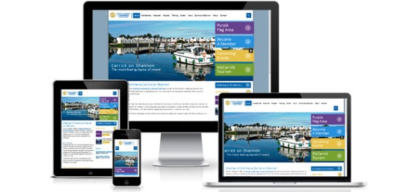 Launch of new website for Carrick-on-Shannon Chamber of Commerce