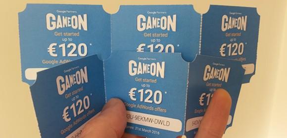 Adwords Vouchers, €120 free advertising credit