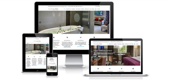 Responsive website for Vision Interiors