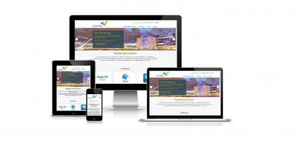 New website for Viatec Business Solutions