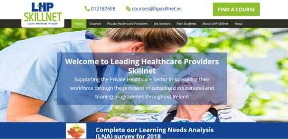 LHP Skillnet Responsive Website and Web App
