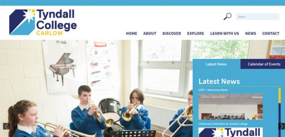 Tyndall College Carlow Responsive Website