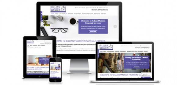 New website for Gillian Madden Financial Services