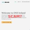 Possible scam alert – DNSireland.org domain name registration emails
