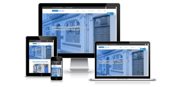 New Responsive Website for Mullaneys Solicitors