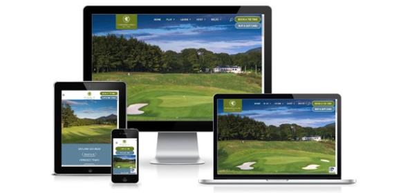 New website for Powerscourt Golf Club