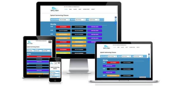 Sligo Splash Swim School Website and Classes Booking