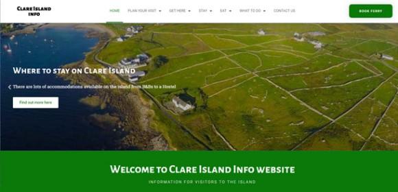 Clare Island Info Redesign