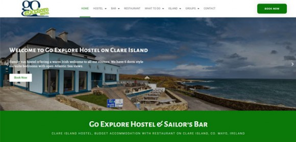 Go Explore Hostel Redesign