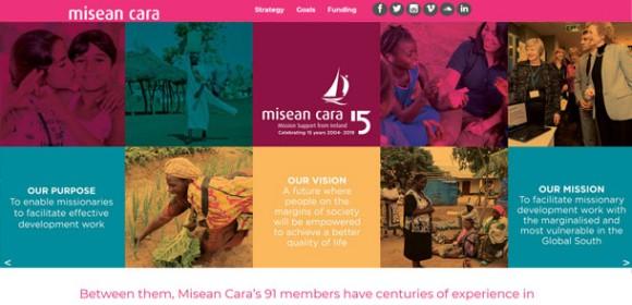 Misean Cara Annual Report microsite