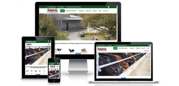 New website for David Taylor Animal Nutrition