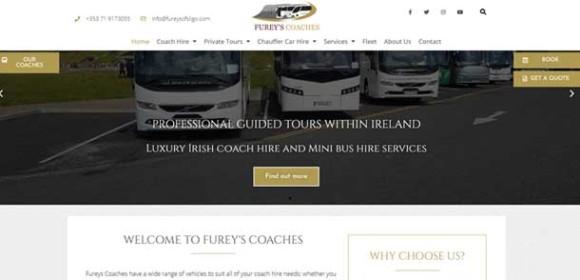 Fureys Coaches Sligo redesign