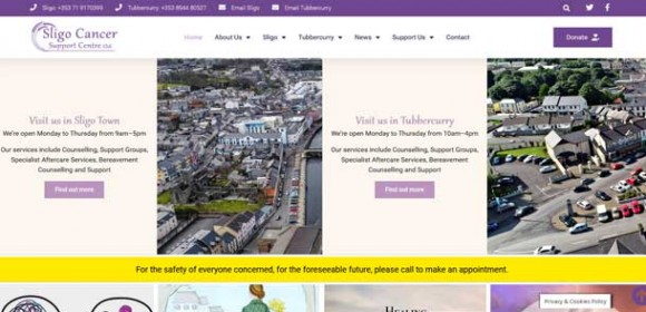 Sligo Cancer Support Centre Redesign