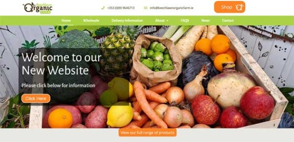 Beechlawn Organic Farm Website and Shop