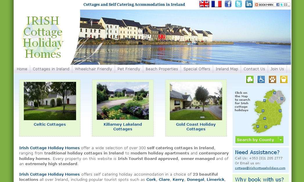 Irish Cottage Holiday Homes, Ireland