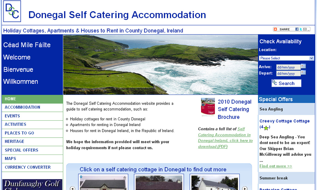 Explore with Donegal Self Catering