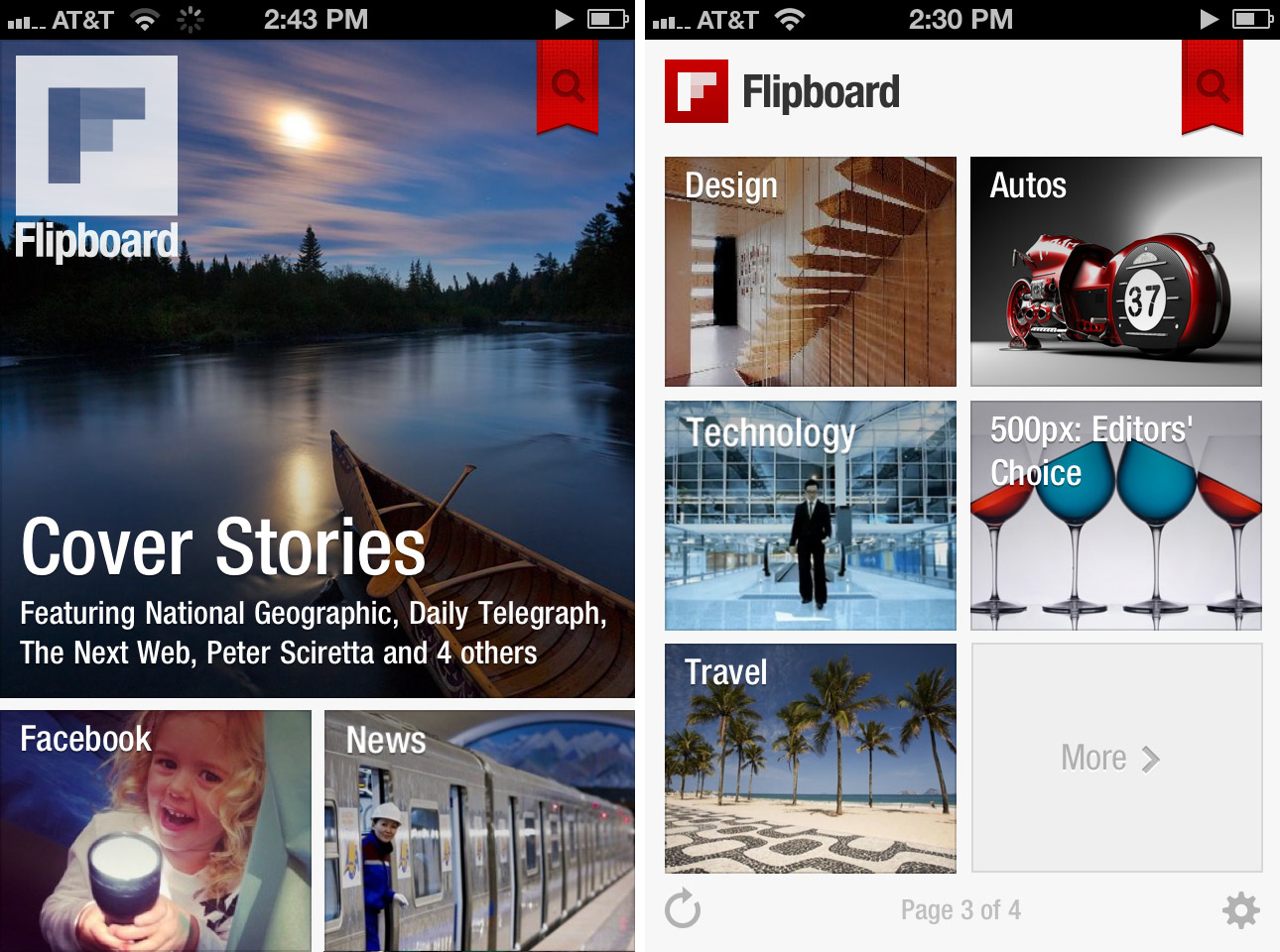 Flipboard keeping you up to date