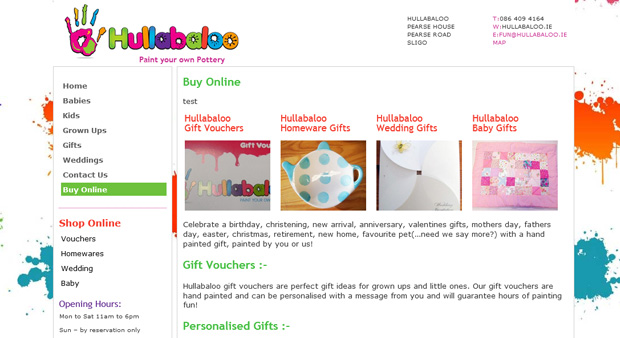 Hullabaloo now selling online