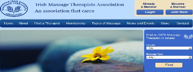 Launch of Irish Massage Therapists Association