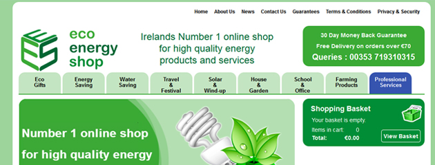 Launch of Eco Energy Shop.com