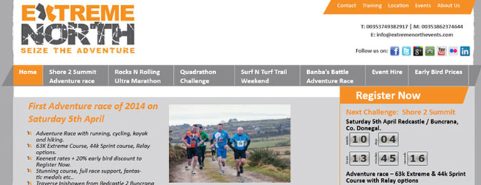 New Responsive Website for Extreme North Adventure