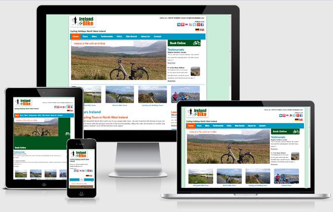 Ireland By Bike responsive view