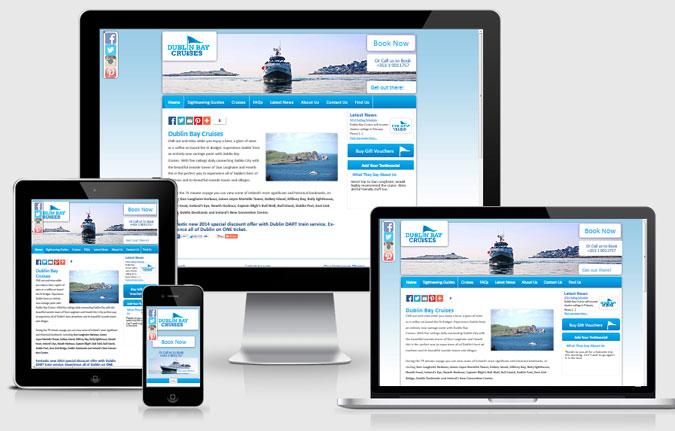 Dublin Bay Cruises responsive view