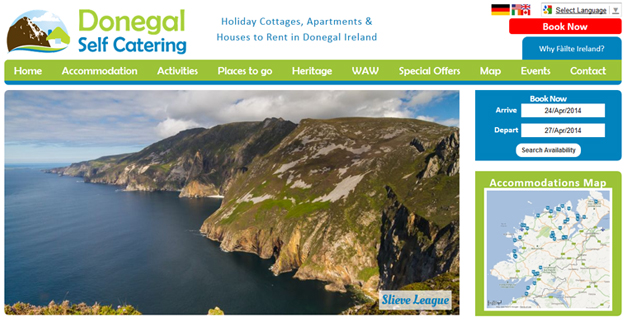 Donegal Self Catering Accommodation Guide, County Donegal