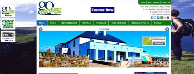 New Website Design for Go Explore Hostel