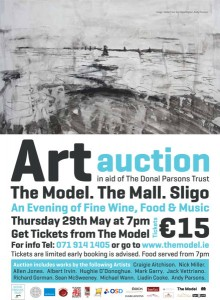 Donal Art Auction Poster