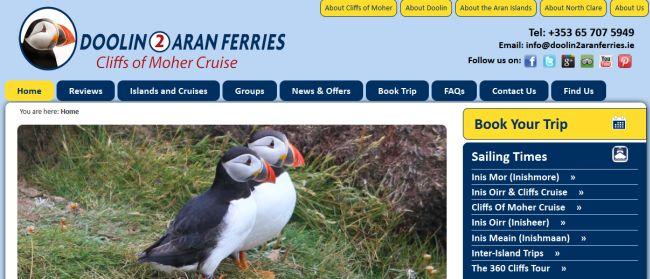 Set Sail with Doolin2Aran Ferries