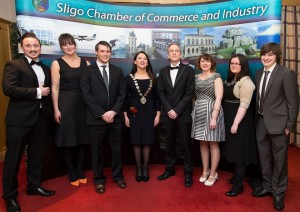 OSD Team Photo from the Sligo Chamber of Commerce Gala Dinner 2014