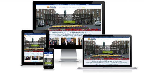 Responsive website for Limerick Chamber
