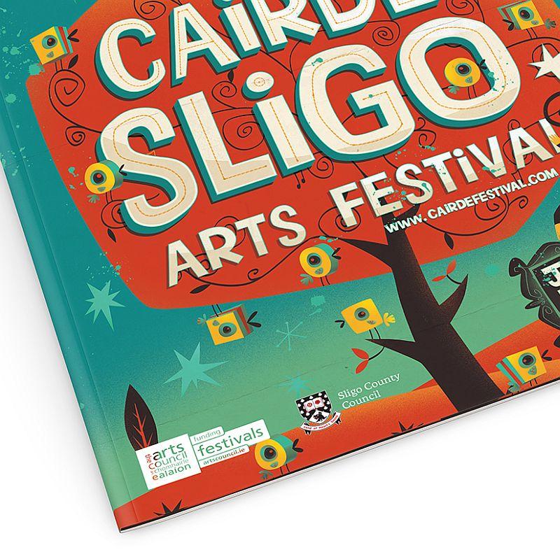 Cairde Sligo Arts Festival cover closeup