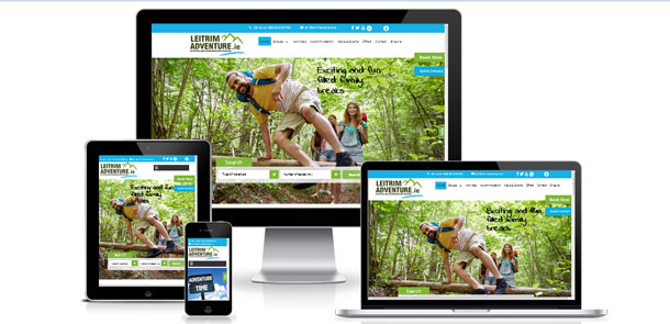 Launch of eCommerce website for Leitrim Adventure