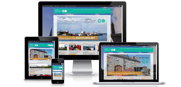 The Old Deanery Holiday Cottages Mayo Website Launch