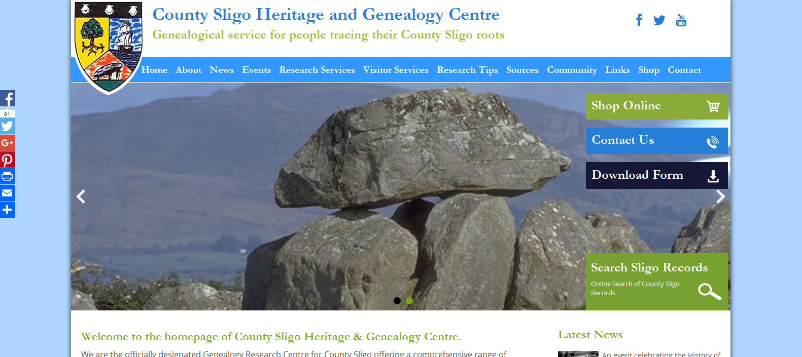 Sligo Heritage and Genealogy Centre