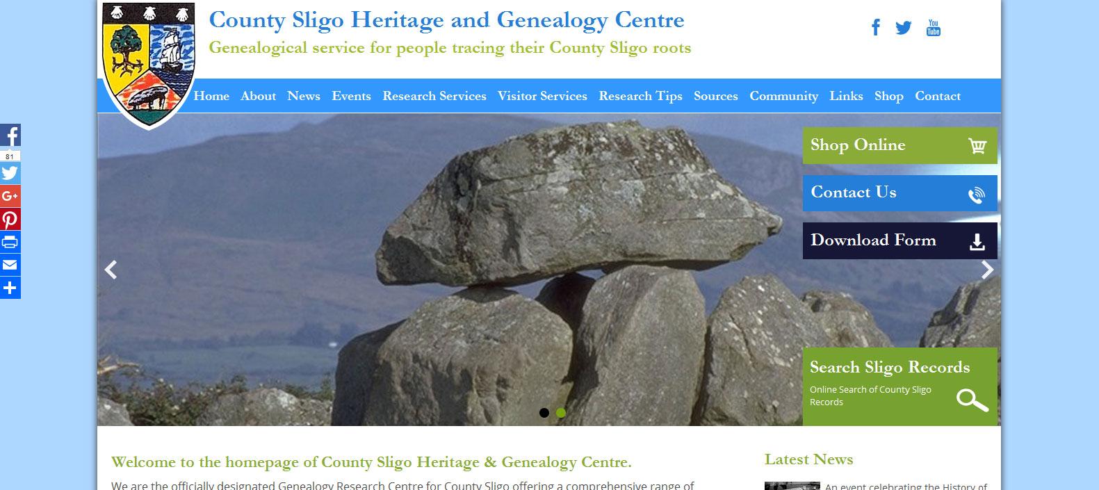 Sligo Heritage and Genealogy Centre