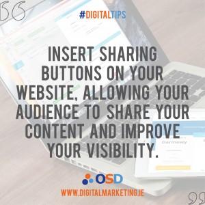 Social Media on your website
