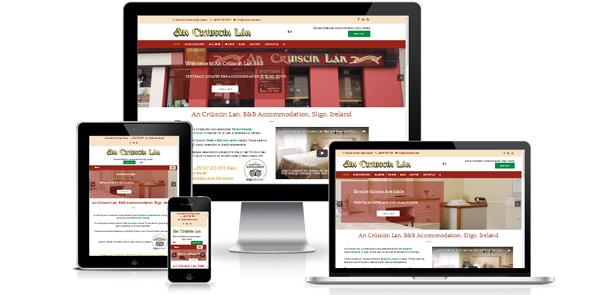 Launch of An Crúiscan Lan Sligo B&B Website