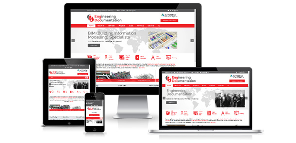 Responsive redesign for EngDoc