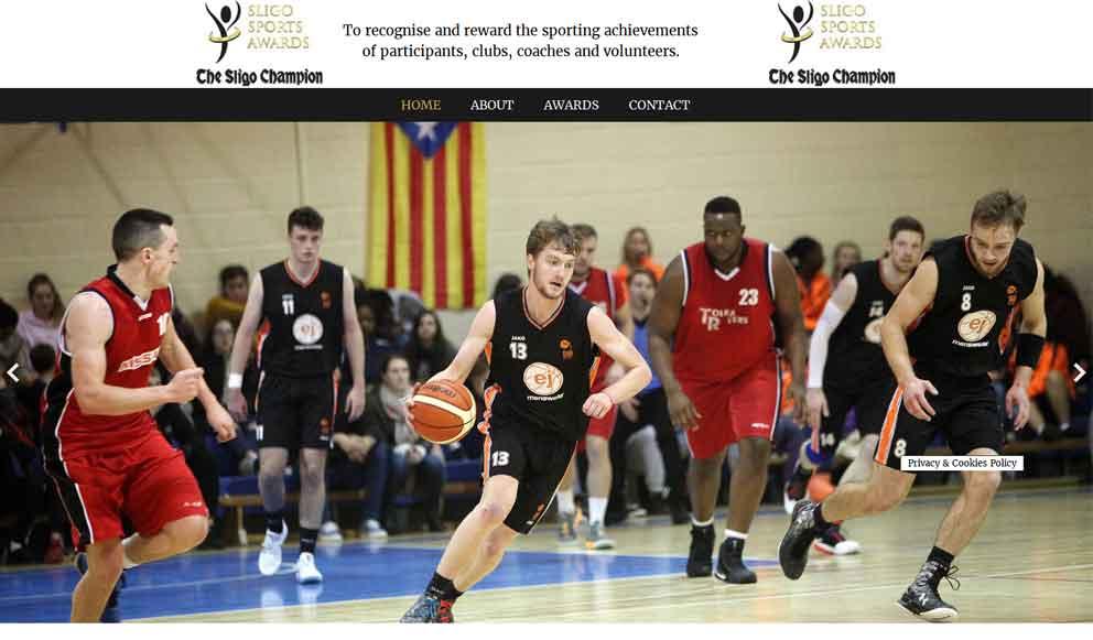 Sligo Sports Awards website